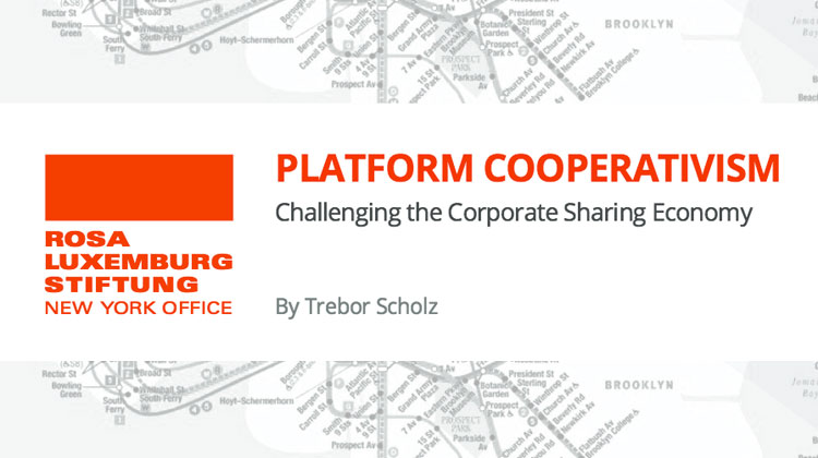 platform cooperatives trebor scholtz