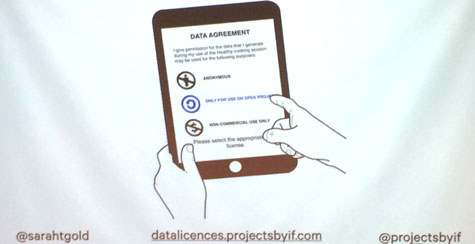 Sarah Gold's Data Licences concept