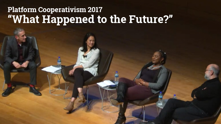 """""""What happened to the future?"""" video from NY conference"""